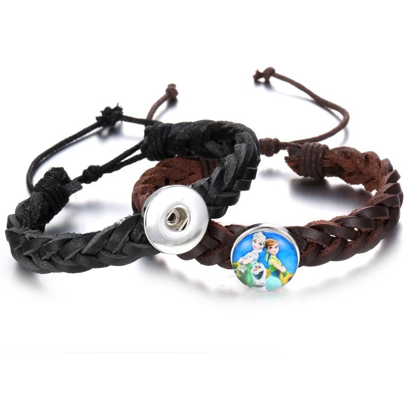 ヾ(^ ^)ノHot Sale Adjustable Snap Bracelets - us118