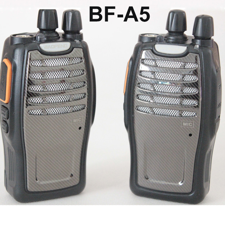 Cheap Walkie Talkie BaoFeng BF-A5 UHF 400-470MHz 5Watts Power 16Channels Match 1800mAh Battery Loud Voice Upgraded of BF-888S(China (Mainland))