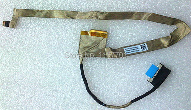100% Original Laptop LCD/LED/LVDS Flex CABLE for Dell ALIENWARE 17 M17X R5 R1 VAS00 DC02001O100 Monitor Cable CN-0FNH0H FNH0H(China (Mainland))