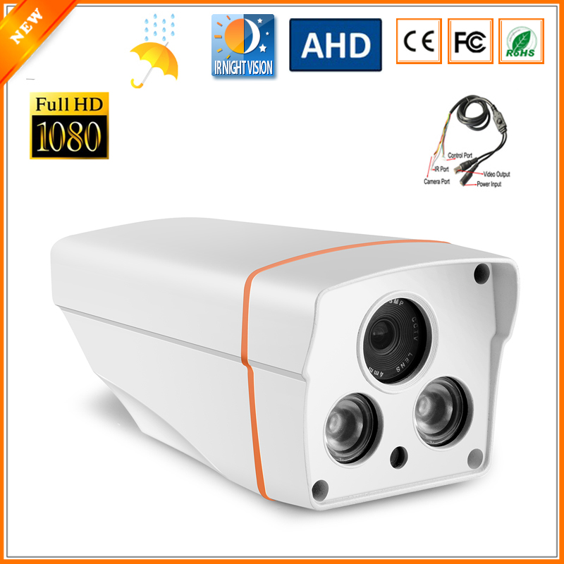 Ultra Low Illumination 1/2.8'' SONY IMX322 3000TVL AHD Camera 1080P Full HD CCTV Surveillance Security Camera With OSD Cable(China (Mainland))