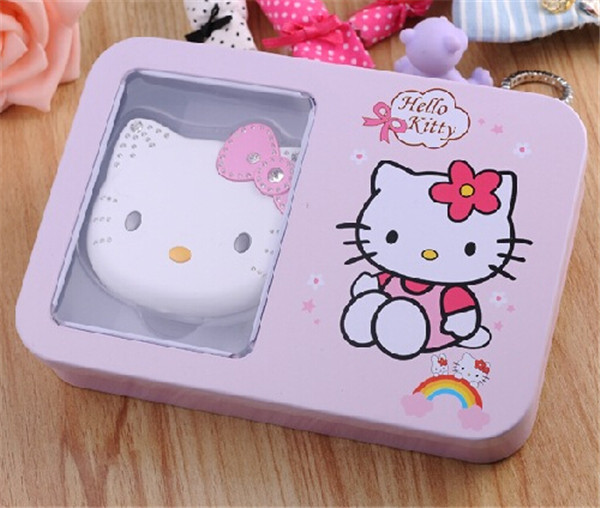 2015 Original Newest K688 Hello kitty Cartoon Mobile phone for kids children Dual SIM standby Flip Fashion Russian cell phones(China (Mainland))