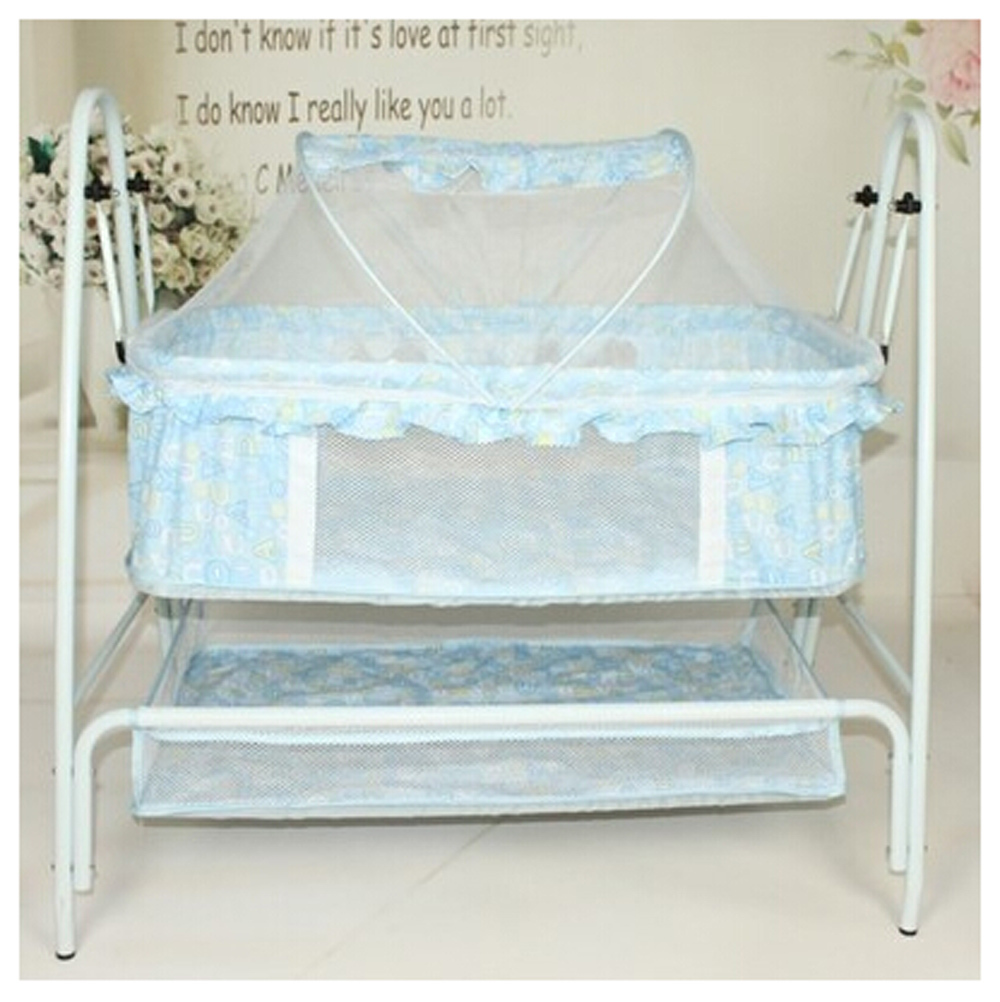online kaufen gro handel baby swing bed metal aus china. Black Bedroom Furniture Sets. Home Design Ideas