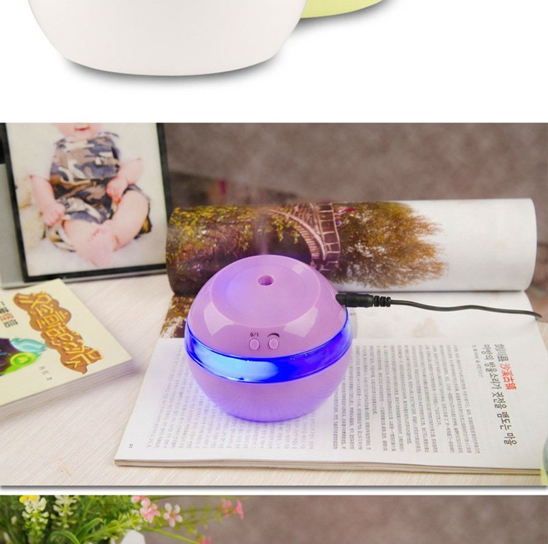 DC 5V Ultrasonic Air Aroma USB Humidifier Color LED Lights Electric Aromatherapy Essential Oil Aroma Diffuser