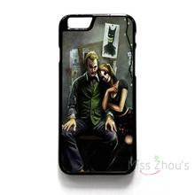 For iphone 4/4s 5/5s 5c SE 6/6s 7 plus ipod touch 4/5/6 back skins mobile cellphone cases cover JOKER AND HARLEY QUINN ART