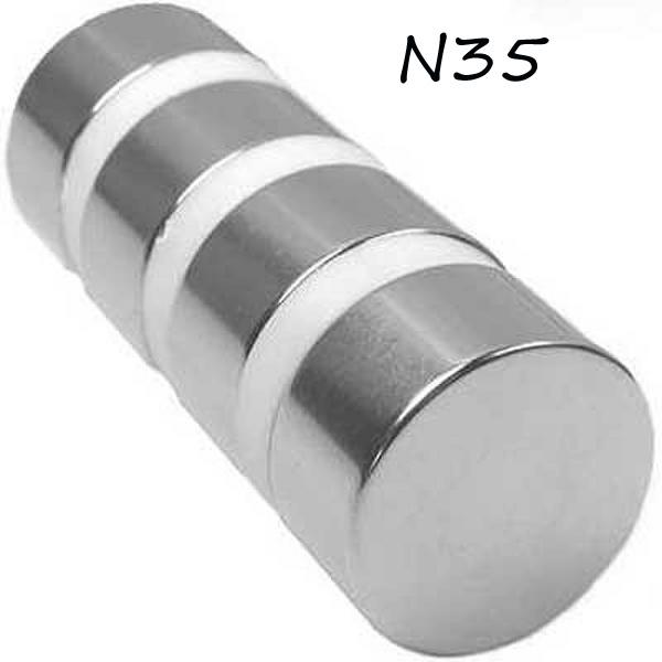 ZLCT196 1pc N35 60x20mm Round Cylinder Neodymium Permanent Magnets NEW(China (Mainland))