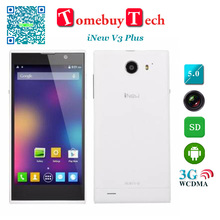 Original iNew V3 Plus 5 inch HD Screen 2GB RAM 16GB ROM Octa core Smartphone 5MP 16MP Camera 720P 3G WCDMA OTG GPS 6.5mm