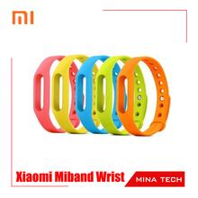 Original Genuine Colorful Silicone Xiaomi Miband Wrist Band Bracelet Wrist Strap For Xiaomi Mi band Smart Band Watch