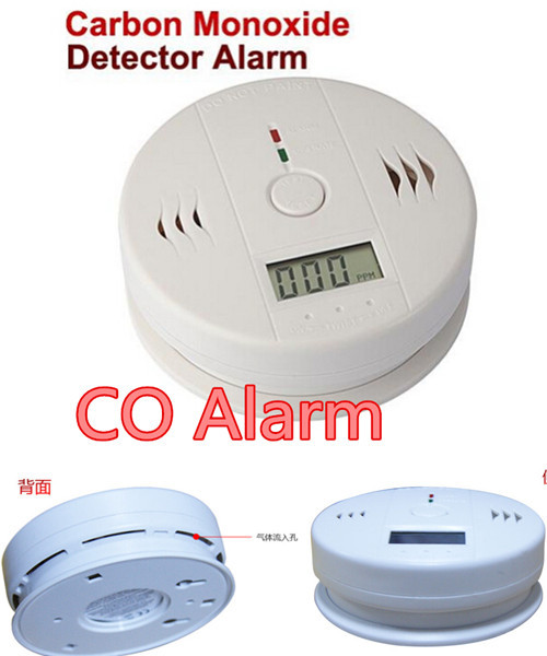 4pcs lcd wireless safety home alert alerter co carbon monoxide detector poisoning smoke gas. Black Bedroom Furniture Sets. Home Design Ideas