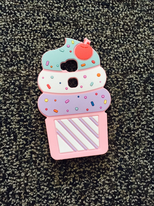 Case For Huawei G7 Plus G8 GX8 covers 3D SUMMER ICECREAM CUP Silicone Rubber Phone Cover HOUSING CELLPHONE CASES FOR Huawei GX8(China (Mainland))