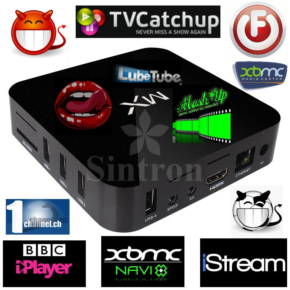 [Sintron] MX2 Android 4.2 dual core Smart TV Box XBMC fully loaded Jailbreak Mini PC(China (Mainland))