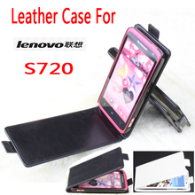 Protective Magnetic Closure PU Leather Flip Case Cover for Lenovo S720 Smartphone Lenovo Leather Phone Cases For S720 Flip Case