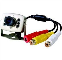 New 6LED Color Mini Camera Wired CCTV Security Surveilance CAM Free Shipping