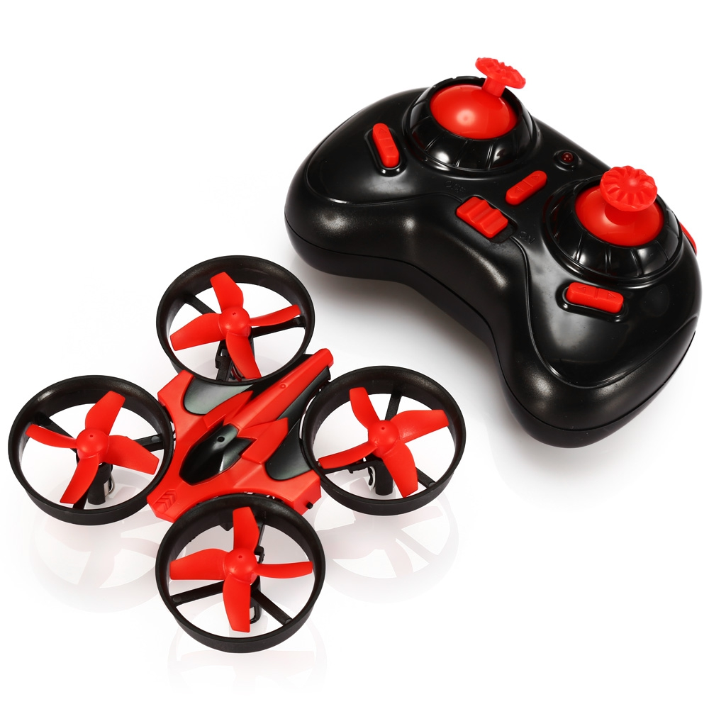 NH - 010 Mini UFO Quadcopter Drone 2.4G 4CH 6-Axis Headless Mode Remote Control Toys Nano RC Helicopter RTF Mode2 VS JJRC H36 H8(China (Mainland))
