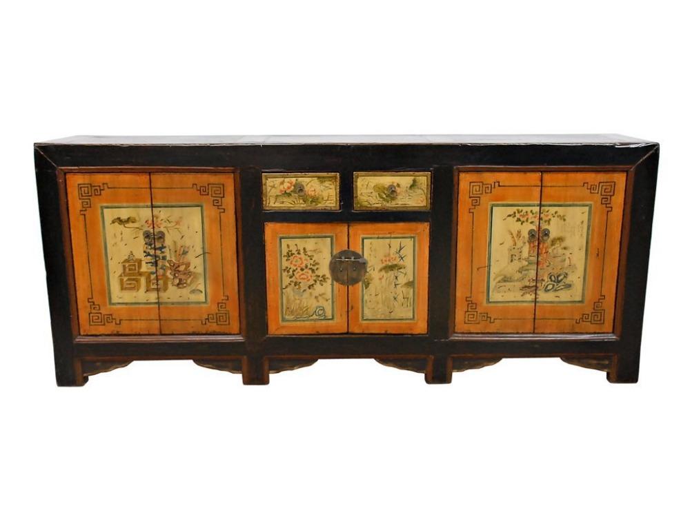 Antieke Woonkamer Kast : Old Wood Furniture TV Cabinet