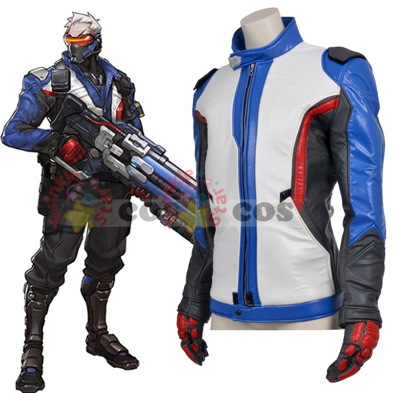 hot game Overwatch cosplay costume Halloween costume for adult Overwatch Soldier 76 cosplay costume Overwatch jacket-in Clothing from Novelty & Special Use on Aliexpress.com | Alibaba Group