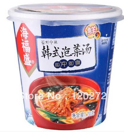 shipping Chinese food Korean kimchi soup10g*3 ingredients vegetable ...