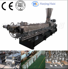 Haisi Plastic Sheet Twin Screw Extruder Machine With High Output(China (Mainland))