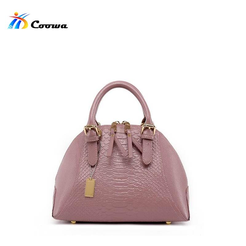 Coowa Shoulder Bag Lady Retro Shell Handbag Sac a Main Luxury Women Designer Handbags High Quality Women Hand Bag(China (Mainland))