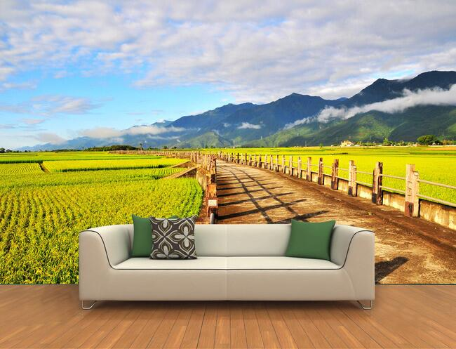 Compare prices on paddy harvester online shopping buy low for Custom mural cost