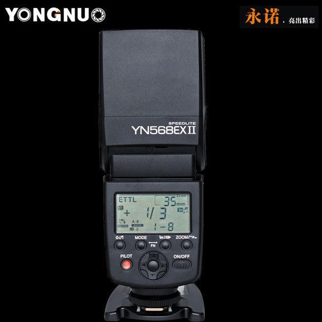 Yongnuo YN-568EX II TTL HSS GN60 master control for Canon 70D 650D 7DII 5DIII 6D<br><br>Aliexpress