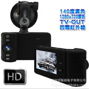 car dvr remote tachograph M600 720P HD 140 degree wide-angle night vision cameras Shenzhen(China (Mainland))