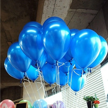 Buy 100pcs/pack 10inch gold silver blue latex balloon air balls toy wedding party decoration happy birthday baloes de festa 1.5G for $5.10 in AliExpress store