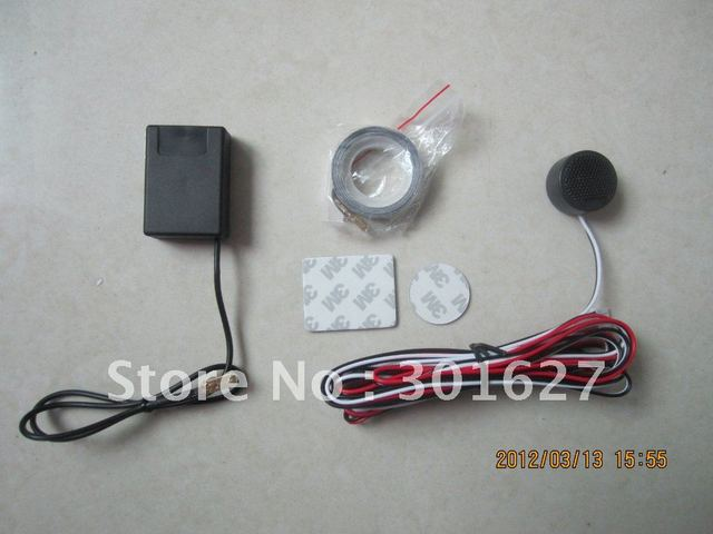 buzzer electromagnetic parking system with no need to drill a hole