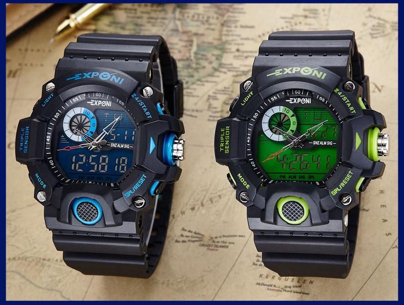 СВЕТОДИОДНЫЕ Электронные Часы Мужчины Спорт Наручные Часы 2016 Часы Известный Лучший Бренд Класса Люкс Электронные Цифровые часы Relogio Masculino