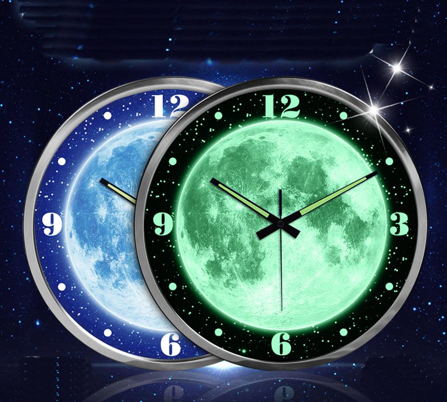 Achetez en gros toiles horloge murale en ligne des for Horloge lumineuse