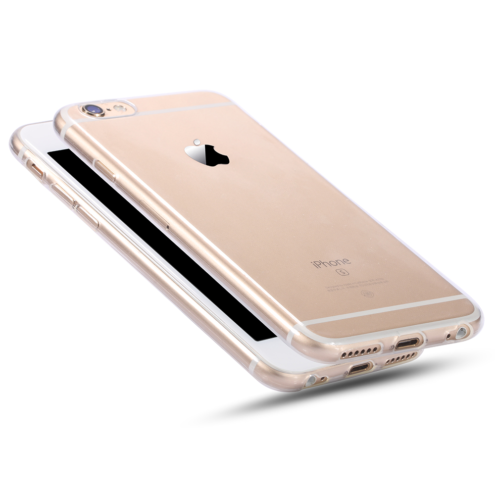 For Apple iPhone 6 6s Case Slim Crystal Clear TPU Silicone Protective sleeve for iPhone 6 plus / 6s plus cover cases(China (Mainland))