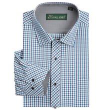 High quality Men's classic plaid shirt Long sleeve dress shirt men Business formal shirts Mens clothing camisa masculina(China (Mainland))