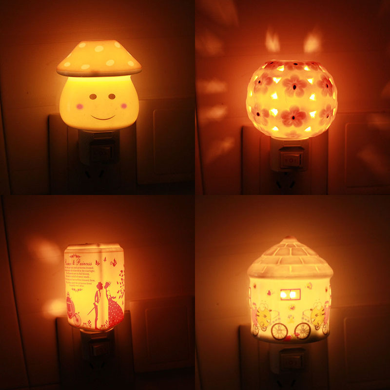 Christmas gift baby bedroom night lamp projection night for Bedroom night light
