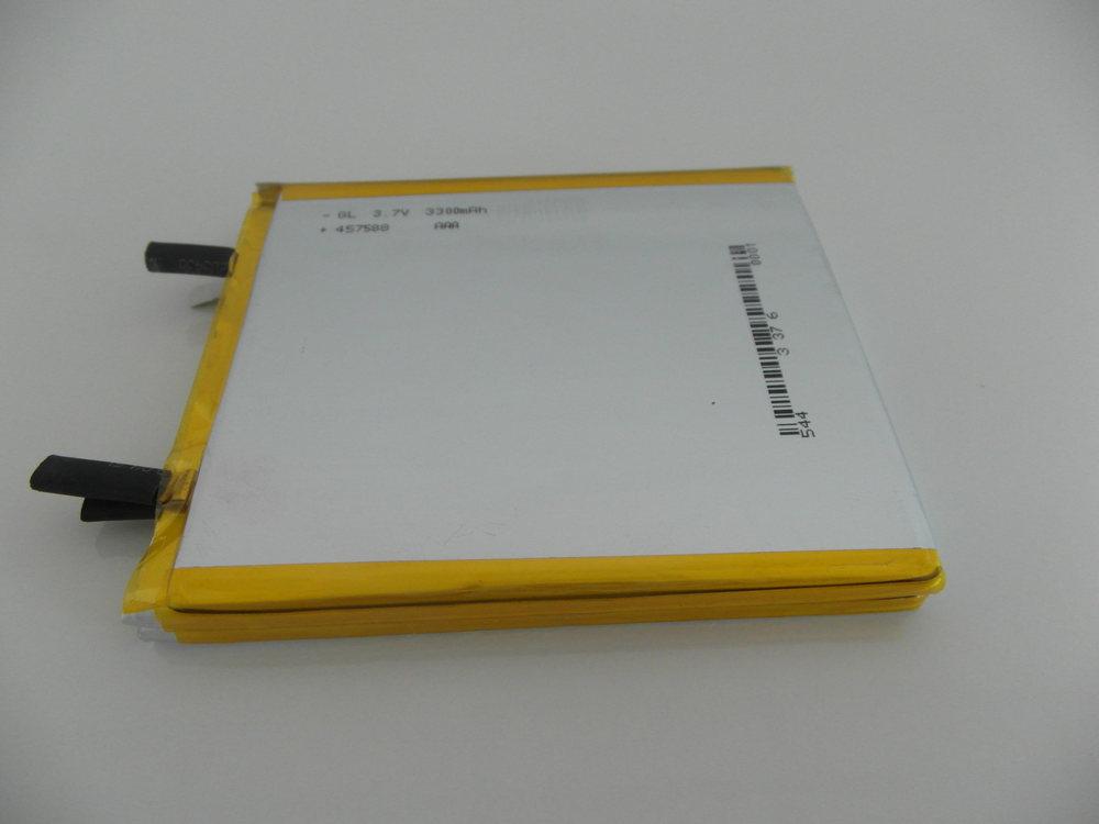 Bluetooth handset battery LED solar system battery lithium polymer battery 3 7v 3 3Ah