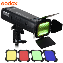 Buy Godox AD200 2.4G TTL Pocket Flash Speedlite 1/8000 HSS Monolight Nikon Canon Sony + AD-S11 Color Filter Gel Pack for $357.00 in AliExpress store