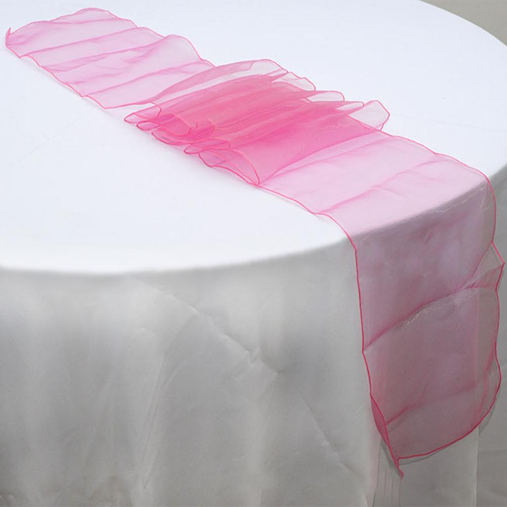 Special Offer 275 x 30 cm Organza Table Runners Wedding Party Banquet Bow Decoration 22 Colors Wedding Decoration Casamento(China (Mainland))
