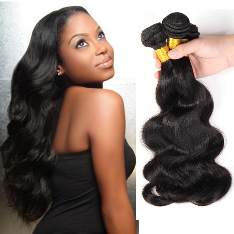 Hot Sell Cheap  Grade 6A Malaysia Virgin Hair Body Wave 100% Human Hair   Malaysia Virgin Hair 3Pcs Free Shipping By DHL<br><br>Aliexpress