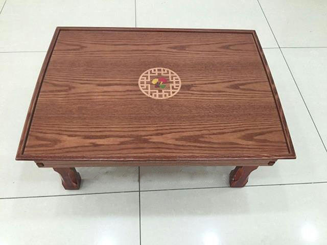 Korean Folding Table Leg Foldable 60*45CM Rectangle Living Room Tea Table Traditional Asian Antique Furniture Dining Wood Table(China (Mainland))