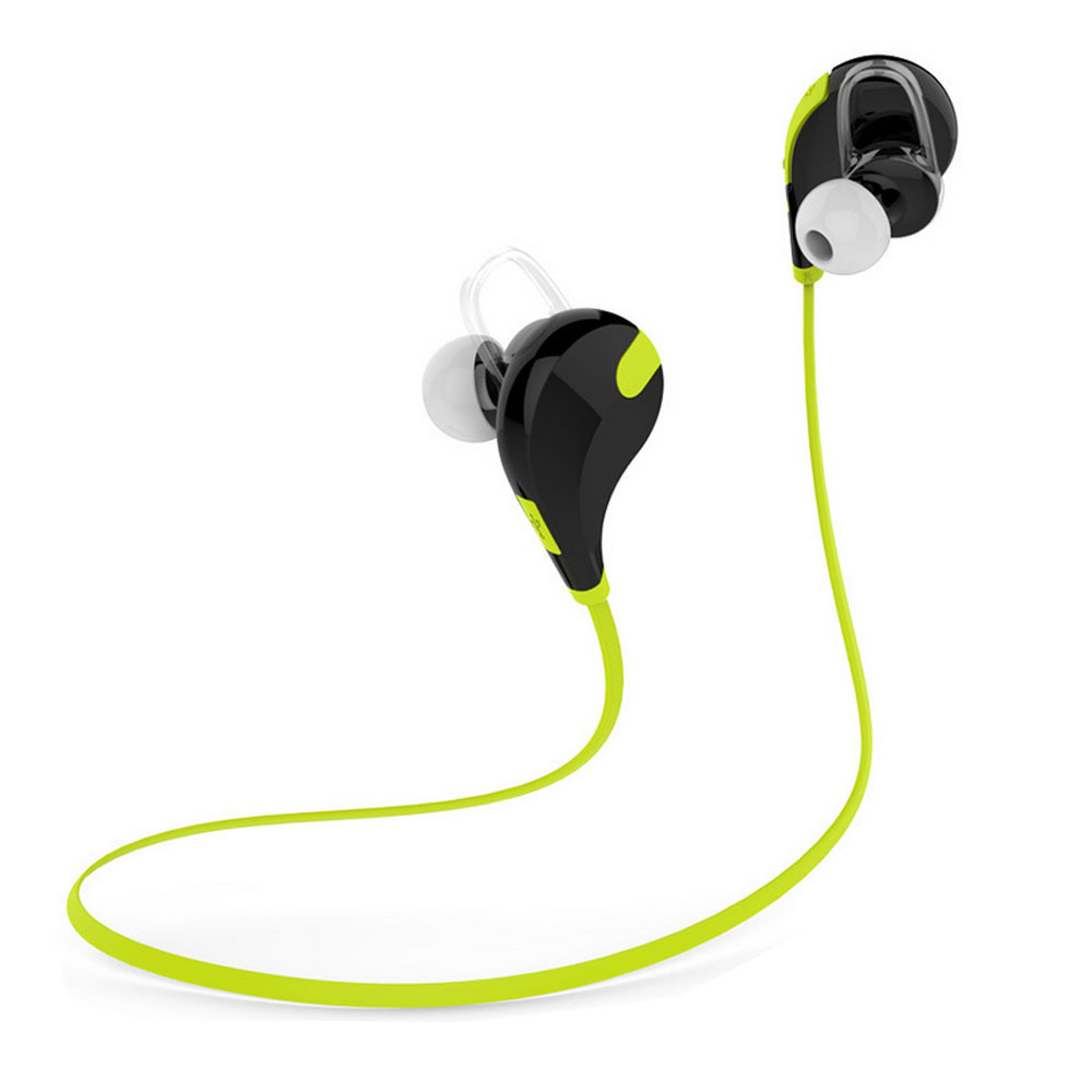 QCY QY7 Wireless Bluetooth 4.1 Sport Headphones Stereo Studio Music Headset Supper Bass Earphone Headset With Microphone(China (Mainland))
