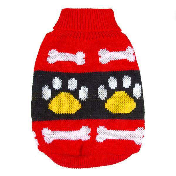 Cute Pet Dog Sweater Clothes XS S M L XL XXL- Puppy Coat Soft Warm Jacket Large