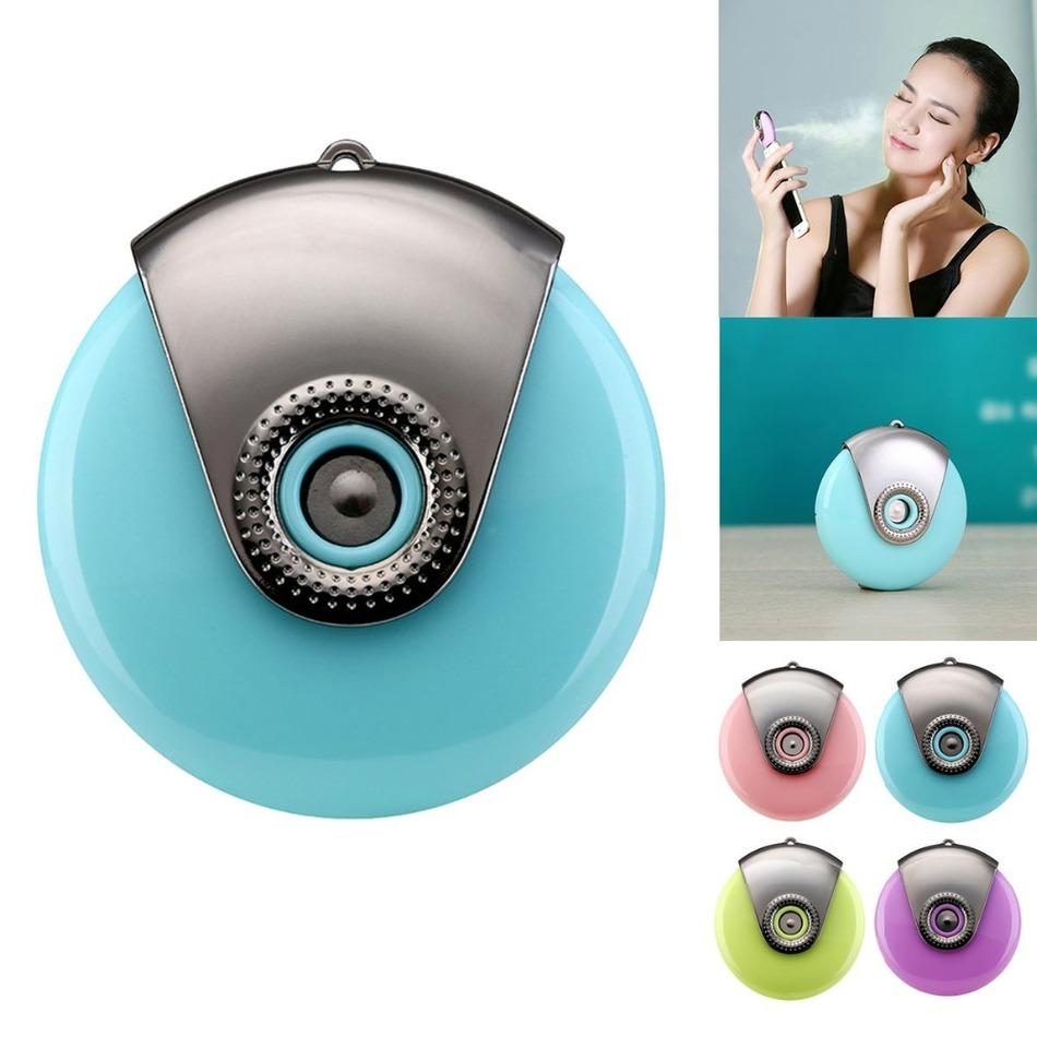 Outdoor Mobile Phone spray moisture Supplier Mist Moisturizing Beauty Instrument Mini Humidifier Facial Water Spray HOT PURPLE(China (Mainland))