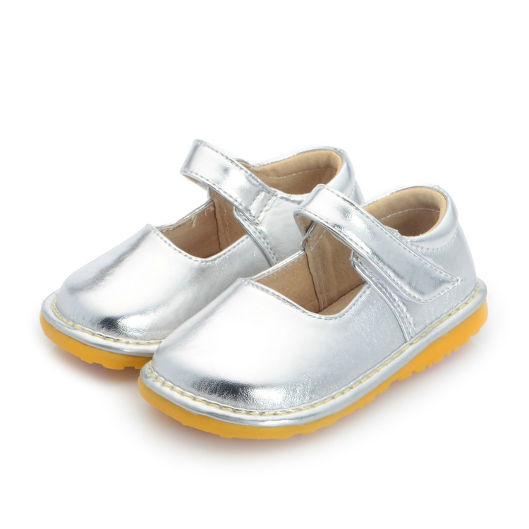 Online buy wholesale squeaky shoes from china squeaky for Girls dress shoes for wedding