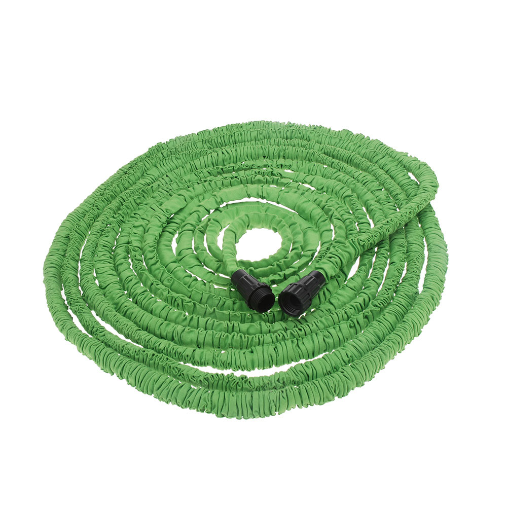 Garden hose Stretched 30M hose watering 100FT Green Magic Expandable Garden Supplies Water Hose with Spray Gun(China (Mainland))