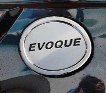 Chrome fuel door gas cover Tank cap For land Rover EVOQUE 2012 2013(China (Mainland))