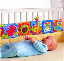 Multifunctional fun bed around multi-colored baby cloth books baby toy 92*14CM(China (Mainland))