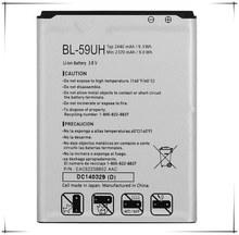 BL-59UH 59UH 2440mAh Li-ion Mobile Phone New Battery For LG G2 mini D618 G2 mini LTE D620 D620R D620K free delivery