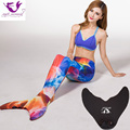 Mermaid Tail Cosplay Costume Mermaid Tails for Swimming Cosplay Women Set Including Top Swimming Mermaid Tail