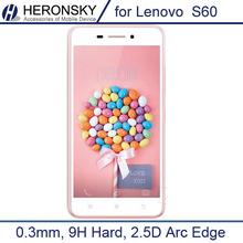 0.3 мм закаленное стекло пленка для Lenovo S60 0.2 мм круглый пограничной высокий прозрачный защитная пленка с чистой инструменты