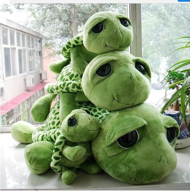 kids toys cute tortoise plush toys Free Shipping lovely big eyes small turtle tortoise doll plush toys children  gifts(China (Mainland))