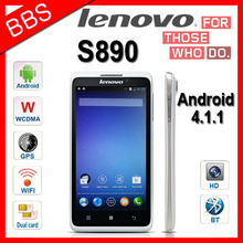 Original Lenovo S890 Android4.1.1 MTK6577 Dual core 1.2G 5 inch android phone 1G RAM 4GB ROM GPS 3G Russian Menu(China (Mainland))