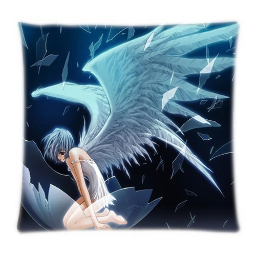product Japanese Anime Neon Genesis Evangelion Mushin Girl Ayanami Rei Design Your Own Cool Pillowcases Two Sides Printed